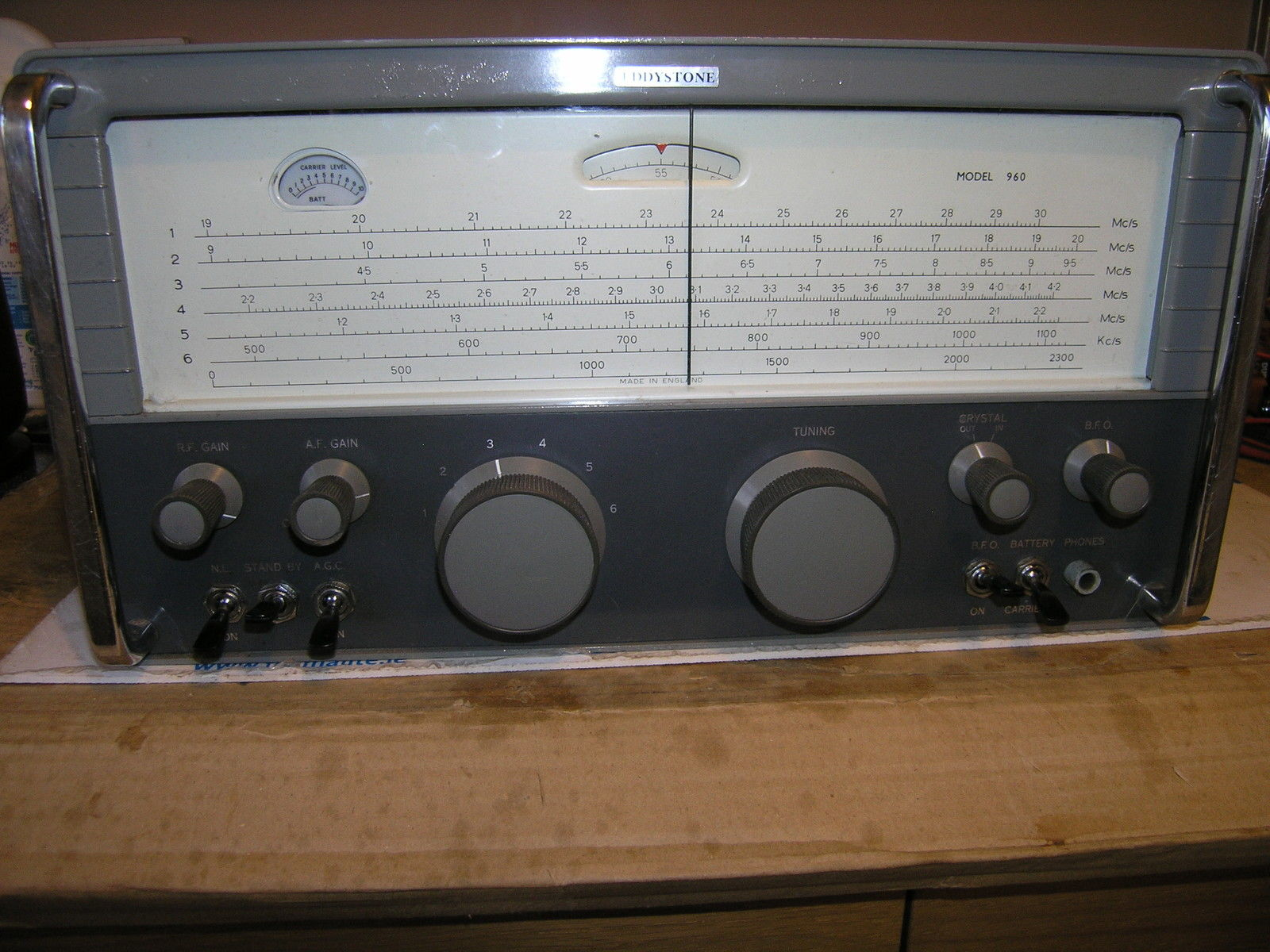 Eddystone 960 set