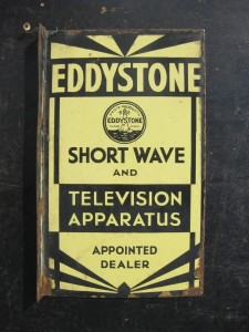 Eddystone Dealers sign with TV reference?