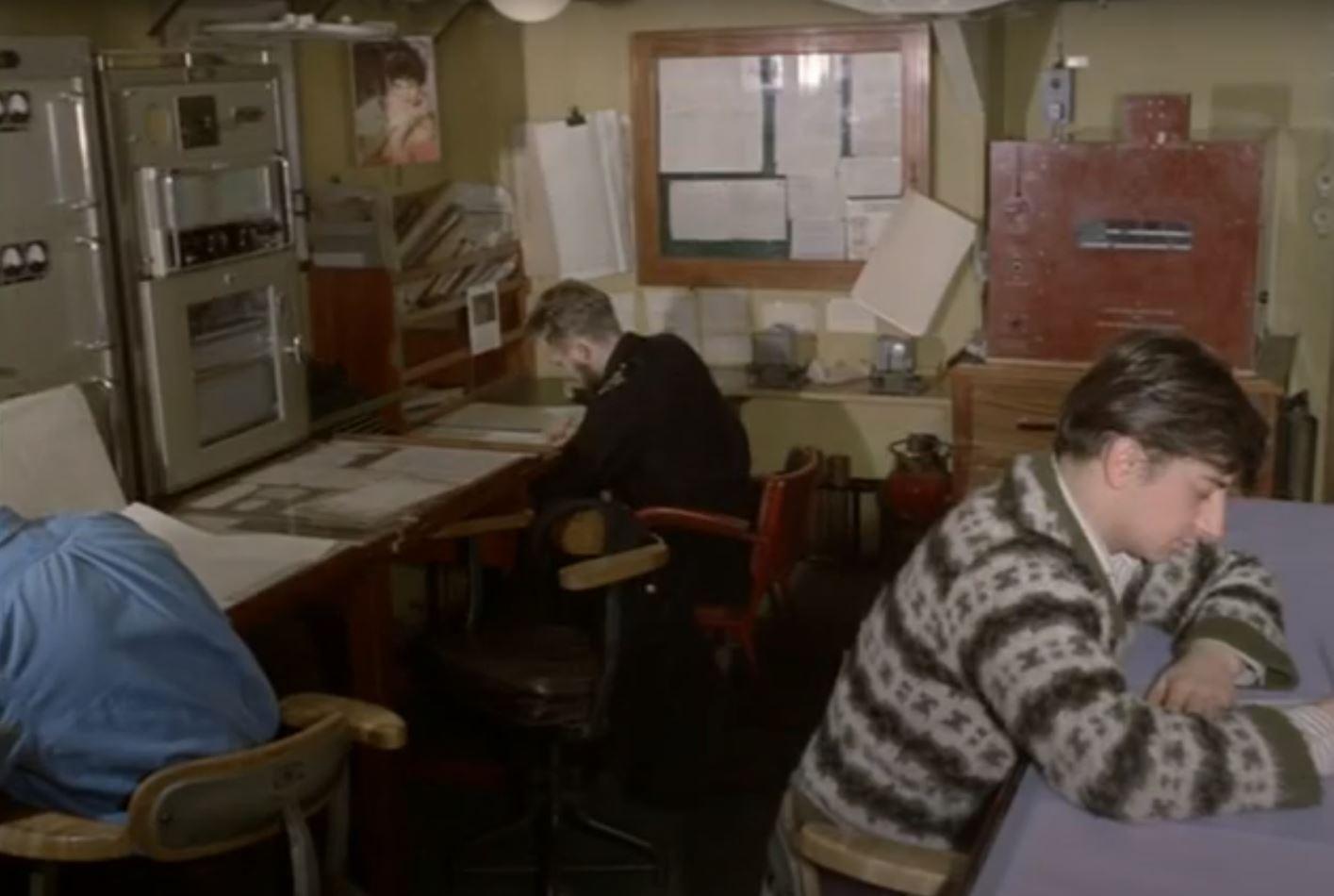 Eddystone on North Atlantic Weather Adviser Ship 1965