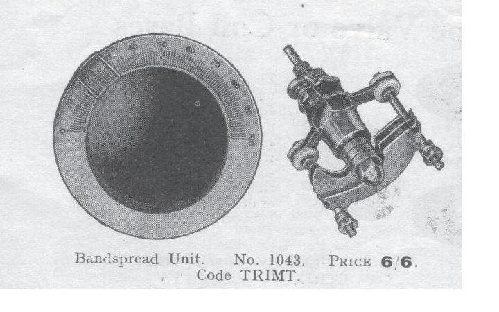 bandspread unit 1043