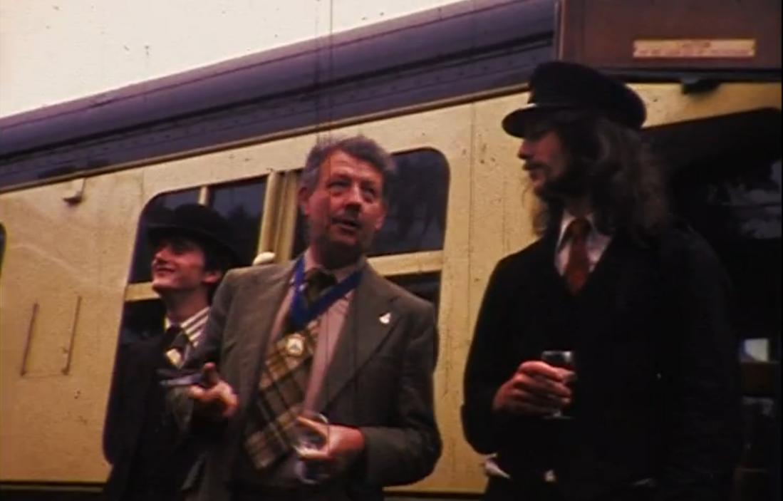 Graeme G3GGL as Mayor of Bewdley 1975